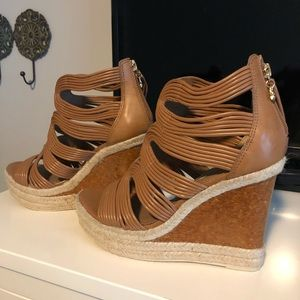 BCBG SEXY WEDGES - Excellent condition!!